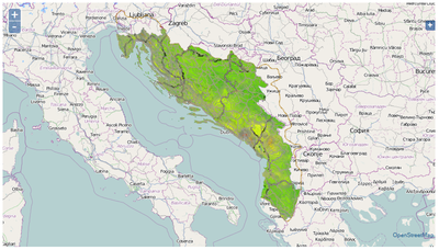 DIKTAS GIS Interactive Map image