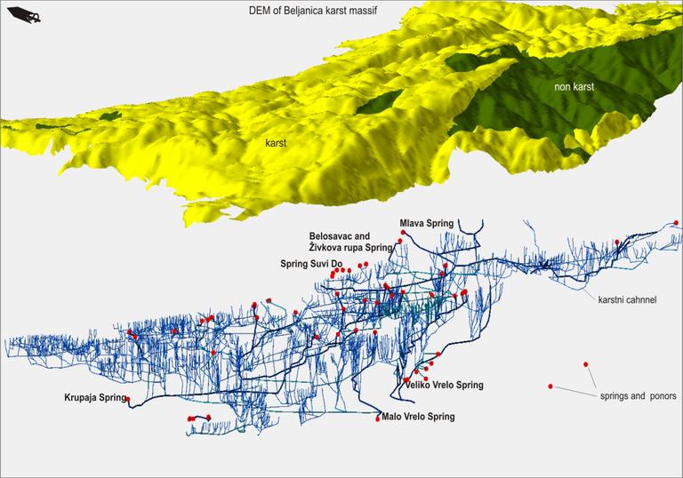 Karst model image